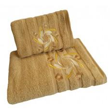 Ręcznik kąpielowy frotte 50x100 bawełna beżowy RB50100-44