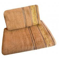 Ręcznik kąpielowy frotte 50x100 bawełna beżowy RB50100-62