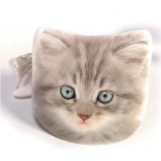 Poduszka dwustronna dziecięca kształtka 40 cm Kotek