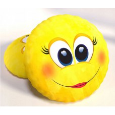 Poduszka dwustronna dziecięca kształtka 40 cm Emotka Buźka