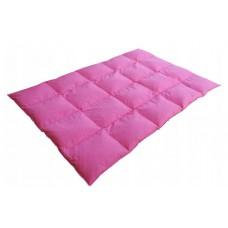 Wsypa na kołdrę 200x220 wsyp andrychowski różowy
