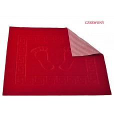 Dywanik łazienkowy antypoślizgowy 50x70 cm czerwony