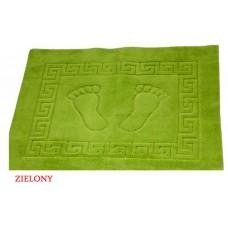 Dywanik łazienkowy antypoślizgowy 50x70 cm zielony