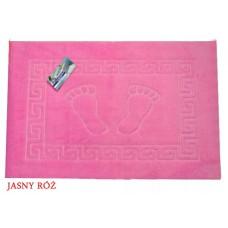 Dywanik łazienkowy antypoślizgowy 50x70 cm jasny różowy