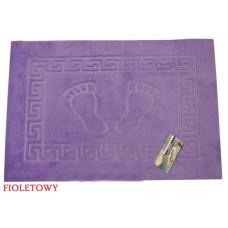 Dywanik łazienkowy antypoślizgowy 50x70 cm fioletowy