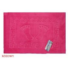 Dywanik łazienkowy antypoślizgowy 50x70 cm różowy