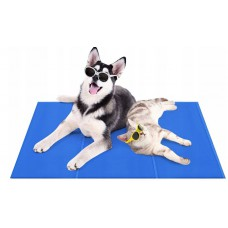 Mata chłodząca dla zwierząt psa kota legowisko 70x110