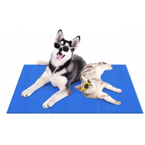 Mata chłodząca dla zwierząt psa kota legowisko 40x50