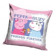 Poszewka na poduszkę dziecięca 40x40 peppa i przyjaciele