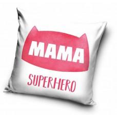 Poszewka na poduszkę ozdobna 40x40 na prezent dla mamy biała