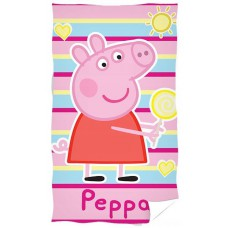 Ręcznik dziecięcy kąpielowy licencyjny 30x50 peppa