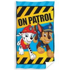 Ręcznik dziecięcy kąpielowy licencyjny 30x50 psi patrol