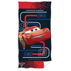 Ręcznik dziecięcy kąpielowy licencyjny 70x140 autka wzór 70