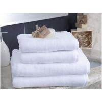 Ręcznik kąpielowy frotte gruby 70x140 hotelowy bawełniany biały