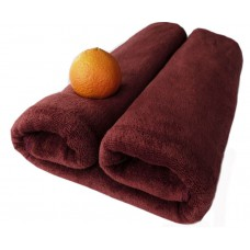 Ręcznik kąpielowy z mikrofibry 70x140 szybkoschnący brązowy