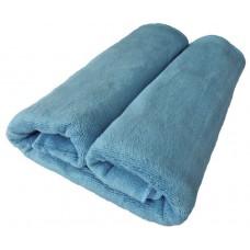 Ręcznik kąpielowy z mikrofibry 70x140 szybkoschnący niebieski