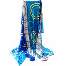 Koc z mikrofibry ciepły 200x220 niebieski