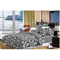 Narzuta na łóżko 200x230 dwustronna bawełniana wzory