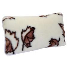 Poduszka wełniana ciepła 50x60 z wełny owczej