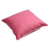 Poduszka z pierza gęsiego 40x40 jasiek różowa