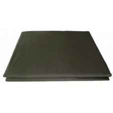Prześcieradło bawełniane klasyczne 160x210 szare ciemne