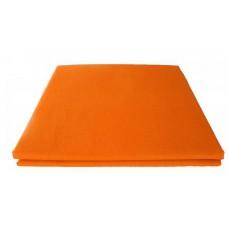 Prześcieradło bawełniane klasyczne 160x210 pomarańczowe