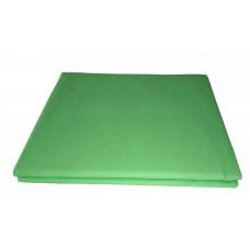 Prześcieradło bawełniane klasyczne 160x210 zielone