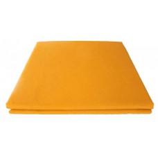 Prześcieradło bawełniane klasyczne 160x210 żółtko