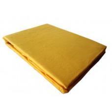 Prześcieradło z mikrifibry klasyczne 160x220 żółte