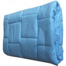Kołdra antyalergiczna medyczna z mikrofibry 140x200 niebieska