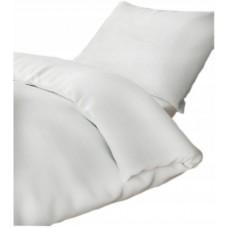 Pościel hotelowa biała 140x200 100% bawełna 155g/m2