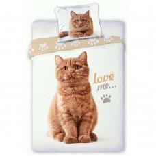 Pościel dziecięca bawełniana 140x200  2-częściowa kotek Best Friends 6