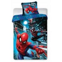 Pościel dziecięca bawełniana 140x200  2-częściowa Spiderman036