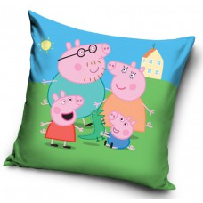 Poszewka na poduszkę dziecięca 40x40 Świnka Peppa PP182045