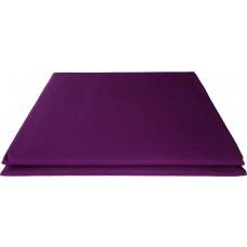 Prześcieradło bawełniane klasyczne 160x210 fioletowe ciemne