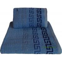 Ręcznik frotte Anhua 1 niebieski