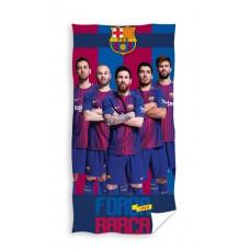Ręcznik dziecięcy kąpielowy licencyjny 70x140 FC Barcelona wzór 99
