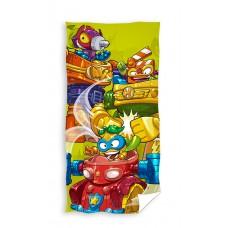 Ręcznik dziecięcy kąpielowy licencyjny 70x140 super zings wzór 97