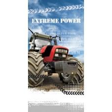 Ręcznik dziecięcy kąpielowy licencyjny 70x140 traktor wzór 95