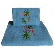 Ręcznik kąpielowy frotte 50x100 bawełna wzór 22
